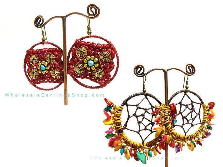 Bigiotteria di Lusso | Bigiotteria gioielli artigianali fatti a mano di estate moda orecchini ...
