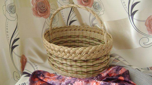 Плетение из газет страна мастеров ирина апенкина