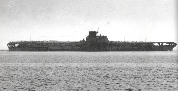 IJS Shinano... 1 of only 2 known photos of the 65000 ton, 800+ ft long behemoth originally slated to be the 3rd sister of the Yamato class battleships.  Not until the Forrestal class of the 1950's did the US build a larger carrier.