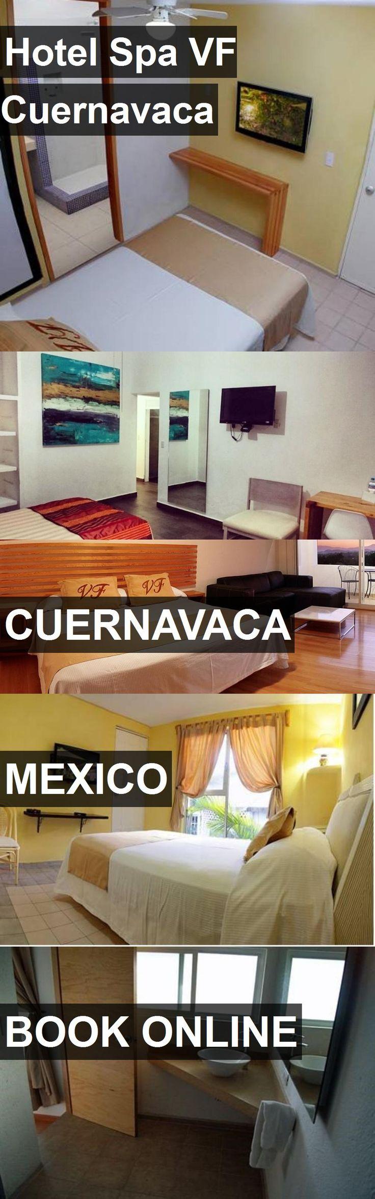 Hotel Spa VF Cuernavaca in Cuernavaca, Mexico. For more information, photos, reviews and best prices please follow the link. #Mexico #Cuernavaca #travel #vacation #hotel