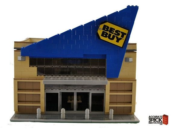 Custom City Electronics Store Model built with by ABSDistributors