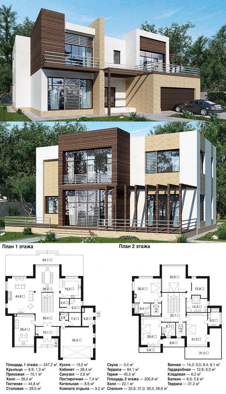 617 best images about planos de casas on pinterest - Planos de casas americanas ...