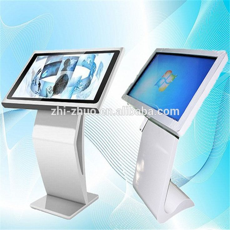 42inch led tv stand all in one pc network digital signage player