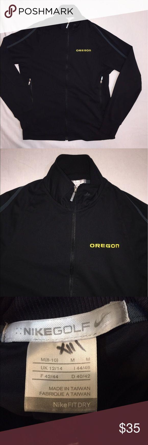 Women's Nike Golf Oregon Ducks Jacket Like new condition. Size Medium. Nike Jackets & Coats