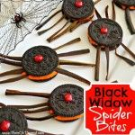 Black Widow Spider Bites Square