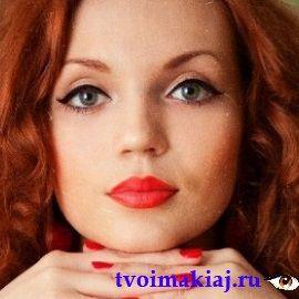 макияж для круглых серых глаз