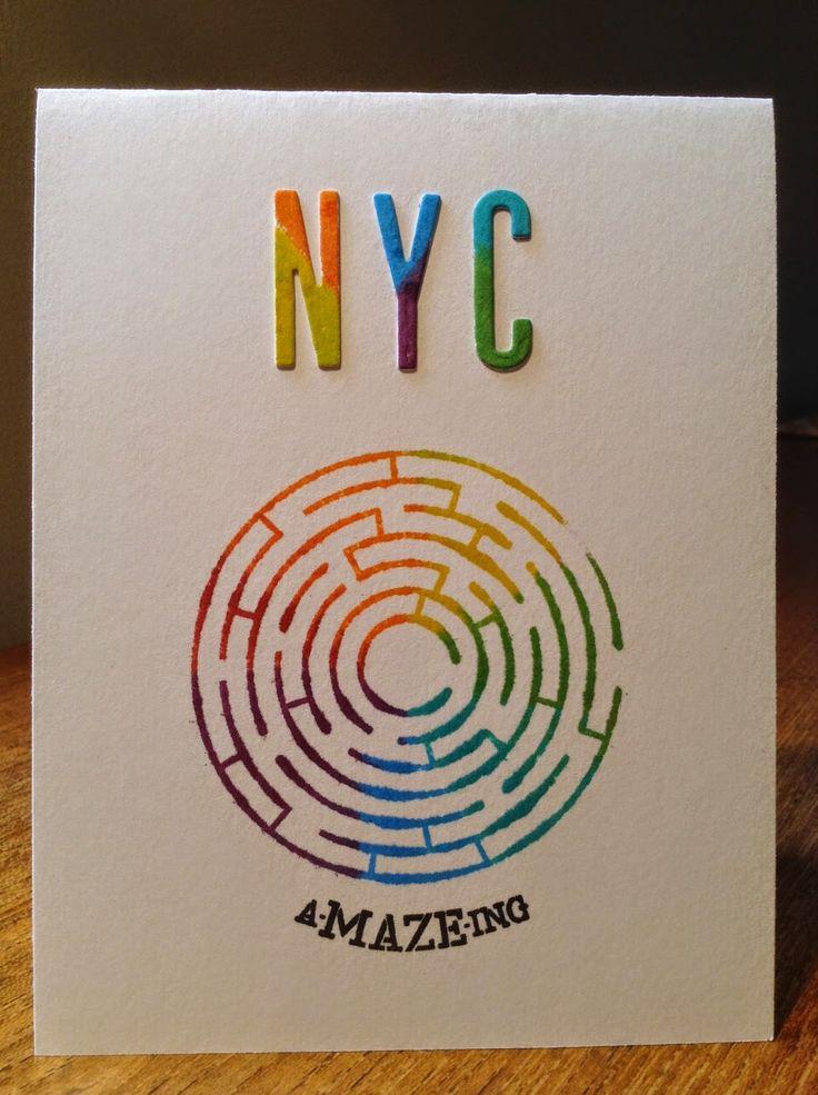 Stamped Goods. This Week. Love NYC!