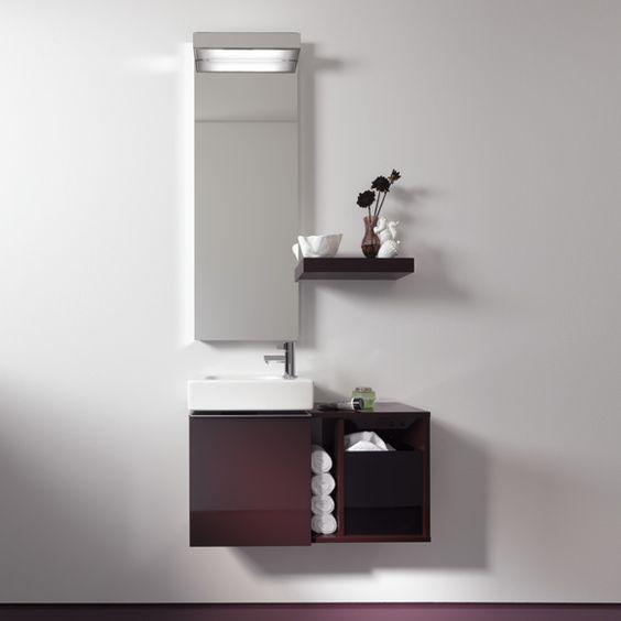 Keramag iCon xs Handwaschbecken-Unterschrank Front und Korpus alpin matt