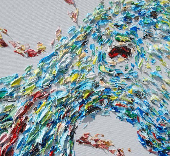 Картина 72 Octopus животных Картина Красивые Полный от KobyFeldmos