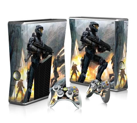 Halo 3 for PC sticker skin for Xbox 360 slim - Decal Design