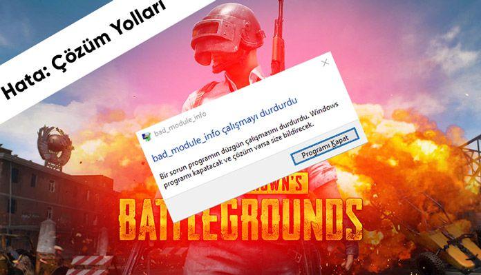 Bad Module Info Calismayi Durdurdu Zula Knight Online Valorant Windows 10 Bilgi Lol