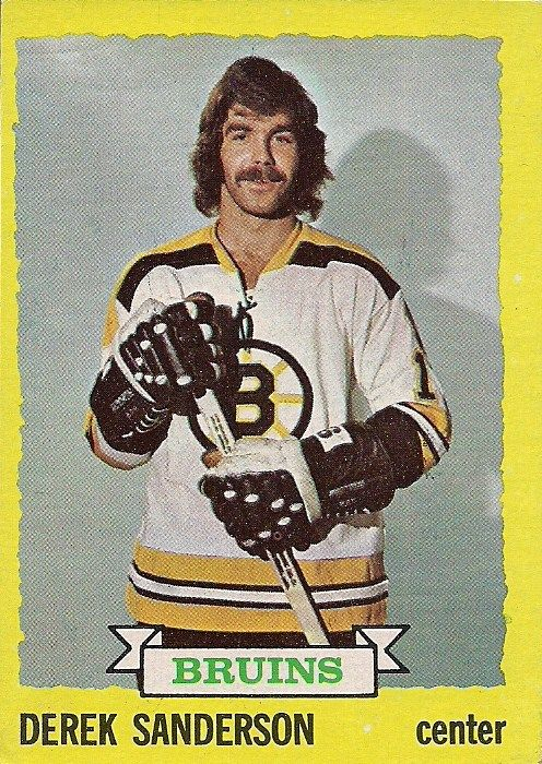 This book shares how Derek Sanderson's ferocious style helped lead the team to two Stanley Cup victories in the early 1970s. Description from thebostoncalendar.com. I searched for this on bing.com/images