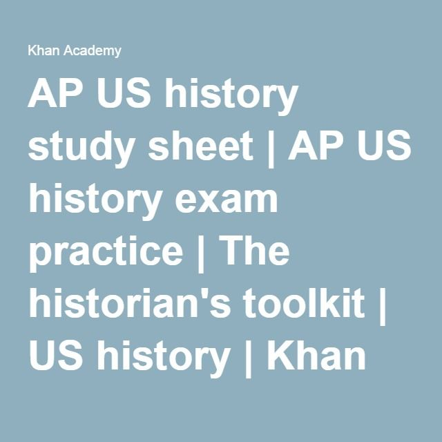 Review Sheets - APUSHReview.com