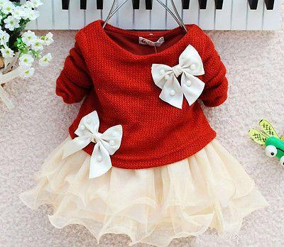 Cute Casual Baby Girls dress