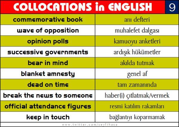 """Seyfettin Demiral Twitter'da: """"YDS için son derece etkili bir KELİME çalışma yöntemi: Collocations in English #YDS #eyds #ingilizce #vocabulary http://t.co/RVMGxl6iwq"""""""