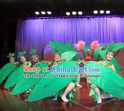 Handmade Big Leaf Dance Props Props for Dance Dancing Props for Sale for Kids Dance Stage Props Dance Cane Props Umbrella Children Adults