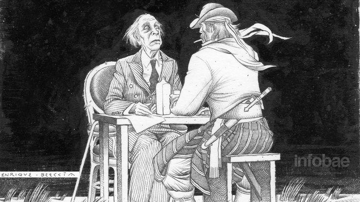 """El escritor y la Patria: Borges, aniversario y Bicentenario La coincidencia entre el 30º aniversario de su muerte y el Bicentenario es un buen pretexto para reflexionar sobre la paradoja de que quien decía querer ser """"suizo"""" nos haya dejado algunos de los más conmovedores poemas patrióticos.http://www.infobae.com/cultura/2016/06/13/el-escritor-y-la-patria-borges-aniversario-y-bicentenario/"""