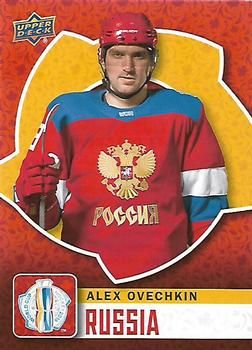 2016 Upper Deck - World Cup of Hockey #WCH-31 Alexander Ovechkin Front