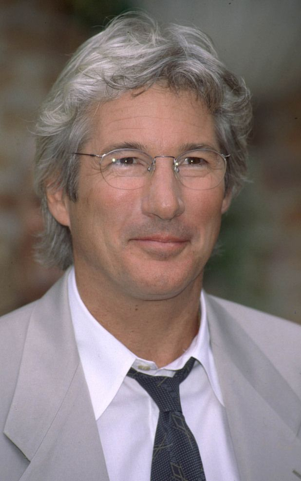 Richard Gere -- ok, so maybe a bit more my age, but he still goes with the boys!