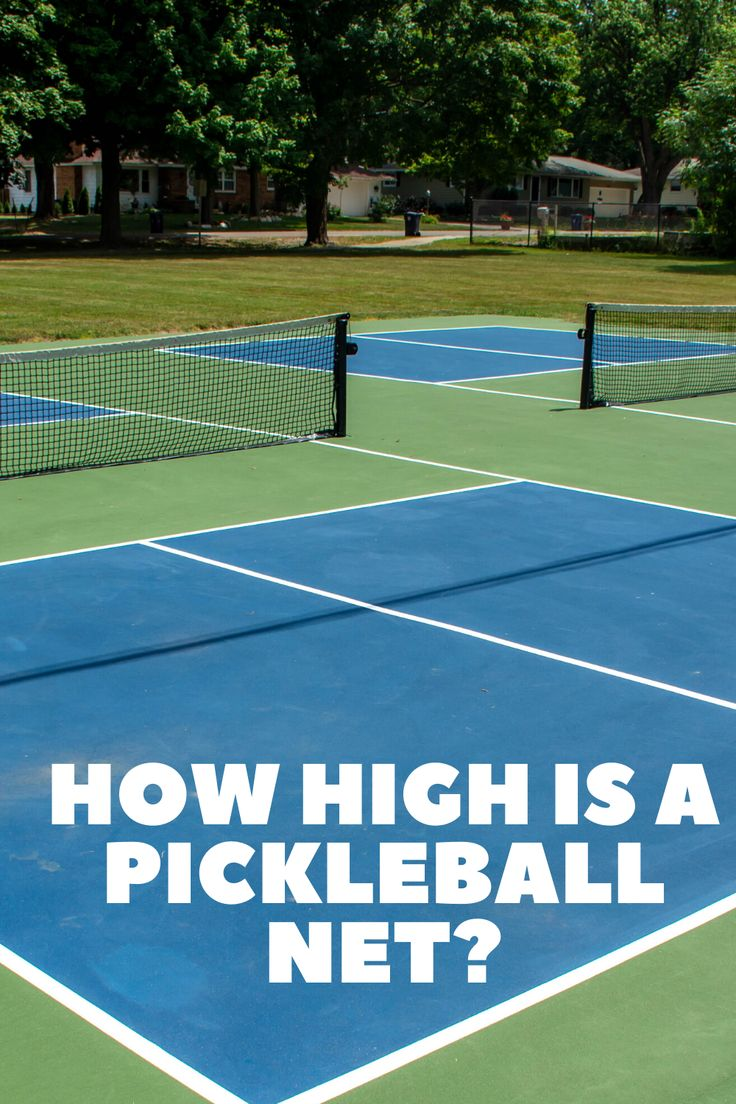 How high is a pickleball net? in 2020 Pickleball, Net