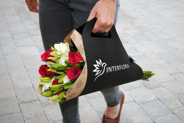 Interflora Rebranding by Marie Walker, via Behance