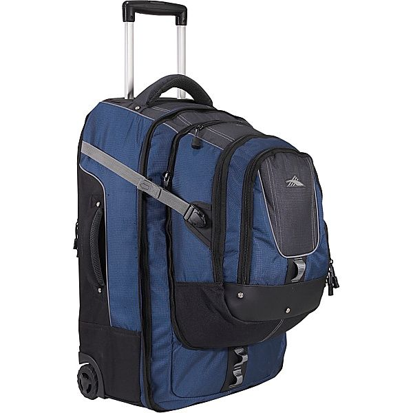 All Hail the Wheeled Backpack.  Why you should choose rolling backpacks for travel.