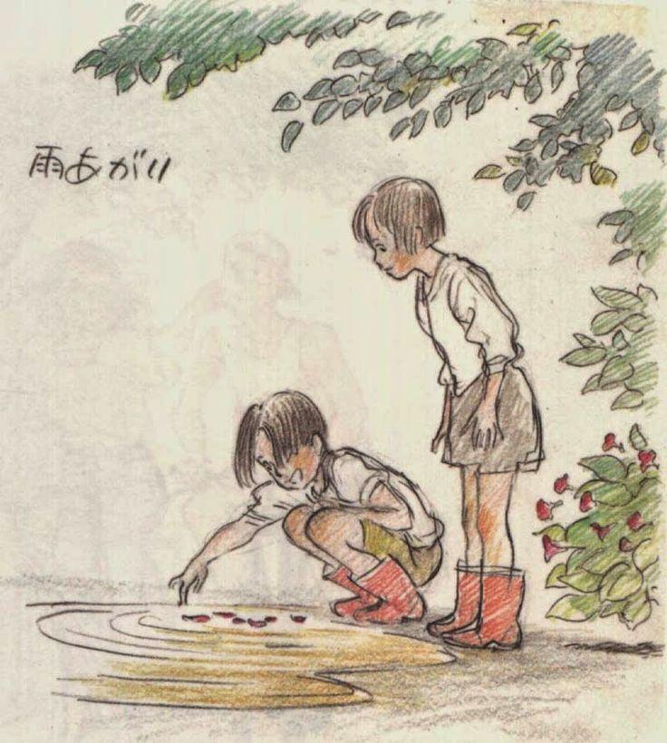 Generación GHIBLI: 'Futo furikaeru to', el arte de Yoshifumi Kondô (II)