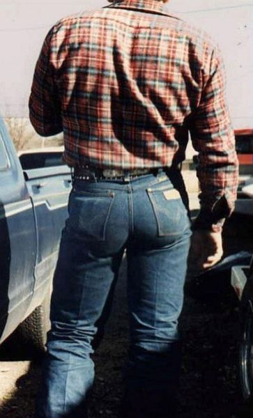 Wrangler butts everywhere when I was growing up.  I still like them :)