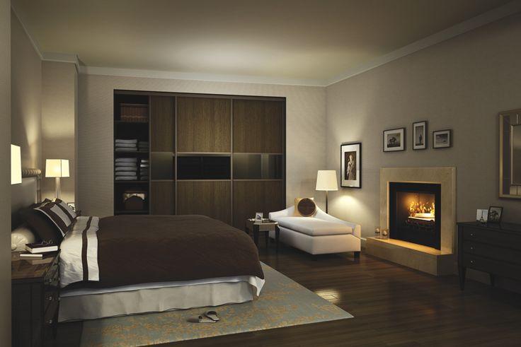 szafa w sypialni wg Indeco