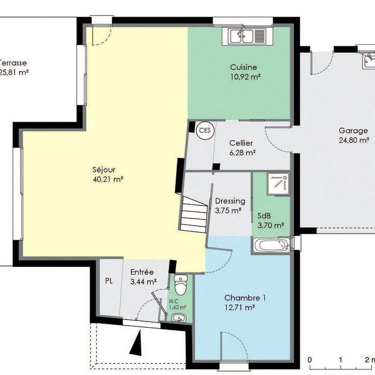 62 best maison images on Pinterest - logiciel plan de maison