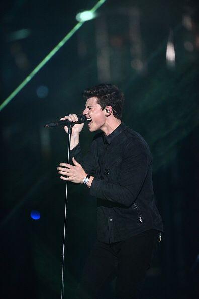 Shawn Mendes at the MTV Europe Music Awards, Rotterdam, Netherlands – 06 Nov 2016