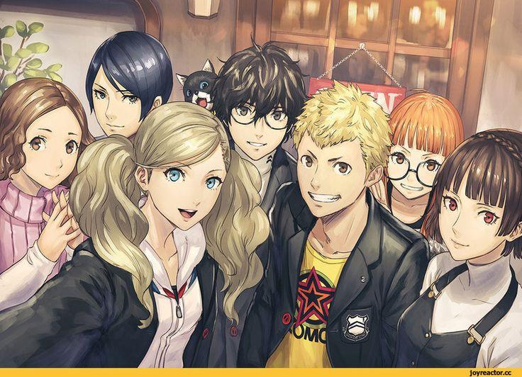 Игровой арт,game art,Игры,Persona 5,niijima makoto,kitagawa yuusuke,takamaki ann,Okumura Haru,Futaba Sakura,morgana (persona 5),sakamoto ryuuji,kurusu akira