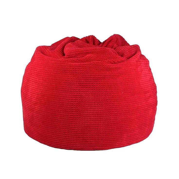 Brick Hug Red Bean Bag | Dunelm