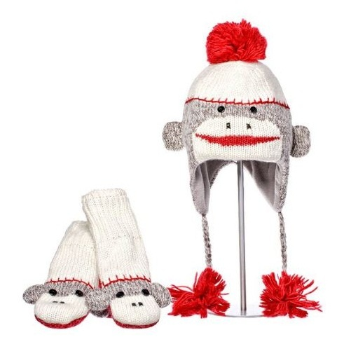 FREE KNITTING PATTERN SOCK MONKEY MITTENS ? KNITTING PATTERN