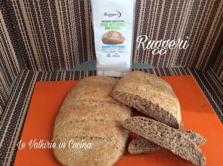 Come preparare il pane integrale con il PREPARATO PER PANE INTEGRALE BIO RUGGERI