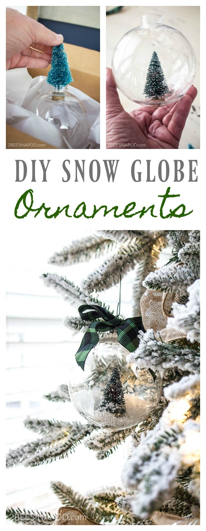 Everything you ever wanted to know on how to DIY bottlebrush Christmas tree snow globe ornaments. Last year was the first full Christmas season that Honey Bee and I celebrated in our home. All of my beloved holiday trimmings were packed away in a storage unit and I had to get creative with my Christmas ... Read More about  DIY Bottlebrush Christmas Tree Snow Globe Ornaments