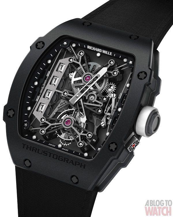 Richard Mille Thrustograph Tourbillon #watch