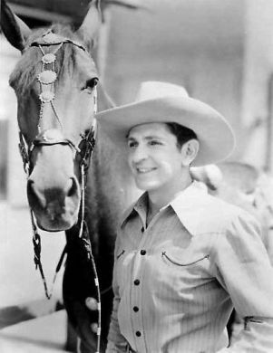 Bob Steele, silent and sound Western movie actor (f-Troop) 1907-88