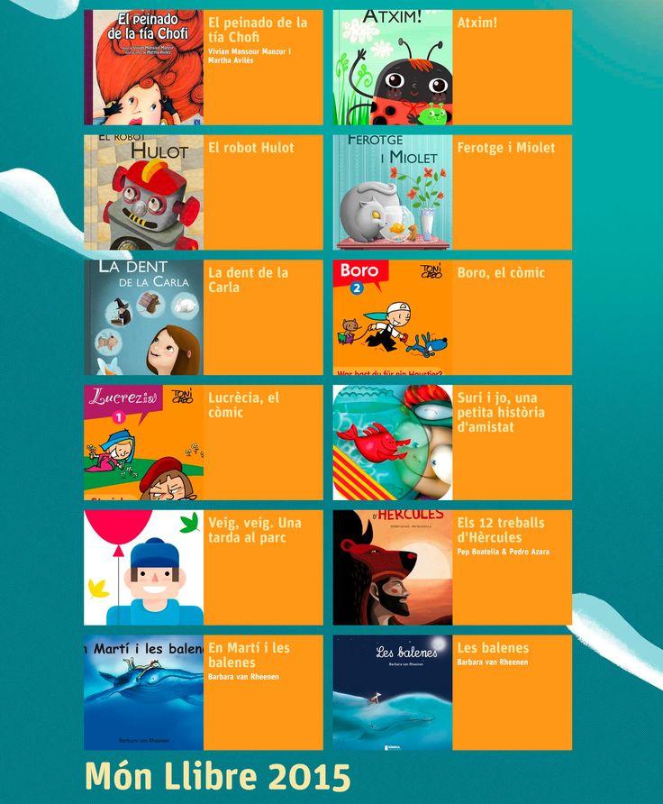 Novetats #apps i #ebooks infantils d'EDITA Interactiva: Atxim!, El robot Hulot, Ferotge i Miolet, La dent de la Carla (AucaDigital); els còmics de #Boro i Lucrècia (iLUBUC); Suri i jo una petita història d'amistat (Spinbooks); Veig Veig, una tarda al parc (Cian) #MonLlibre15 #LIJ
