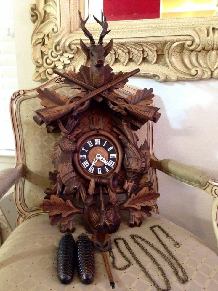 Coo Coo Clock Black Forest And Hunters On Pinterest