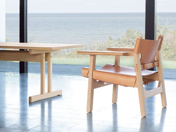B rge Mogensen s Spanish Chair and Shaker Table  Both crafted in knotless  oak from sustainable forestry  Danish FurnitureArt FurnitureFurniture DesignDanish. 21 best MODERN ORIGINALS BY FREDERICIA FURNITURE images on Pinterest