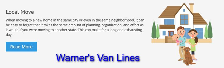 Warner's Van Lines provide the Local Moving Services in the New York area with our professional and experienced movers.