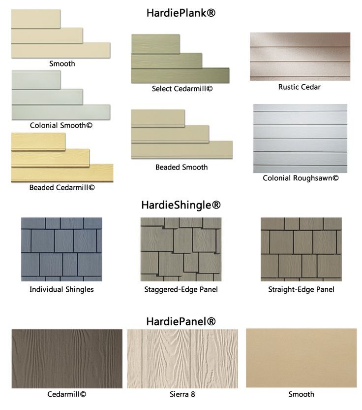 hardie plank colors - Google Search