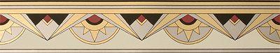 Bradbury Art Deco Interior Design | Wallpaper Borders | Manhattan