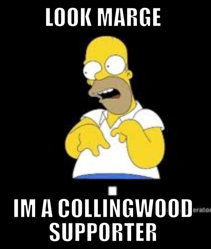collingwood supporter eeeeeeer lmao