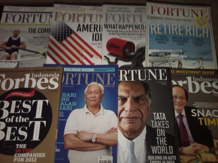Majalah fortune dan forbes
