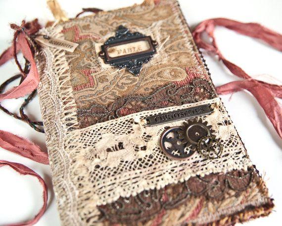 Junk Journal Art Journal Diary Writing Journal by Accessoire