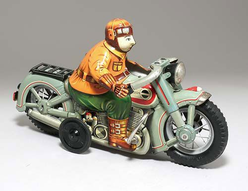 Harley Davidson: Best 801 Tin Toy Motorcycle Images On Pinterest