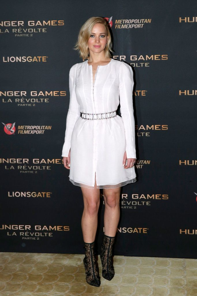 128 best style jennifer lawrence images on pinterest actresses weve rounded up all of jennifer lawrences hunger games promo tour outfits voltagebd Image collections