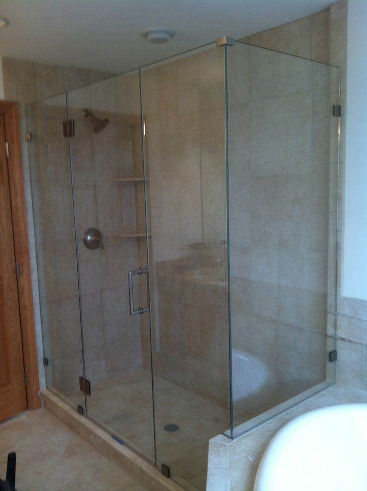 Shown Is 3 8 Thick Tempered Glass Door Hinged To 189